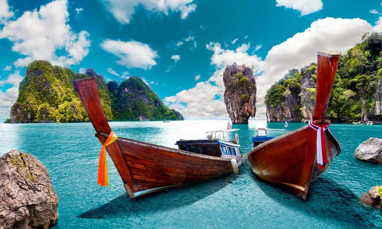 Phang Nga Bay near Phuket, Thailand